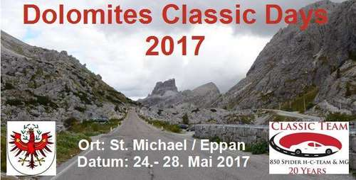 3rd Dolomites Classic Days
