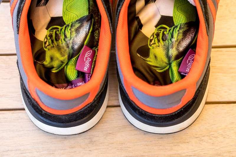 DUFFIES gegen stinkende Schuhe - jetzt in der Apotheke verfügbar