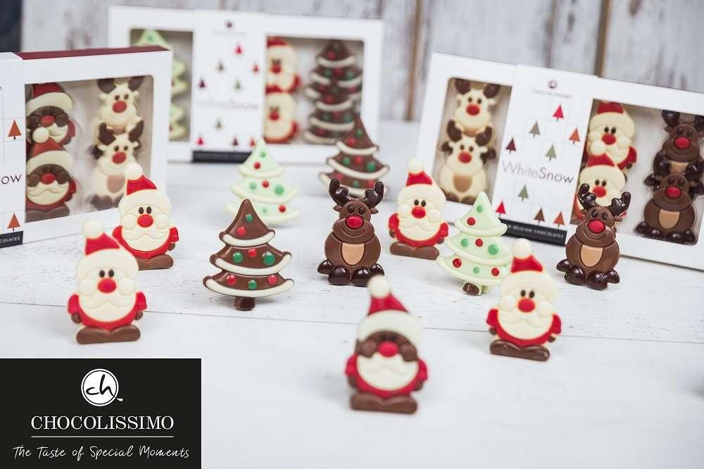 Innovative Weihnachtsgeschenke aus Schokolade