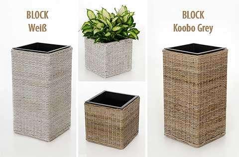 Im Trend: Koobo Grey und White Wash - neue Pflanzkübel von VIVANNO