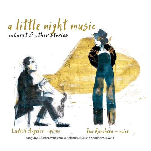 """A little night music - cabaret and other stories"" - Neues Album von Ina Kancheva"
